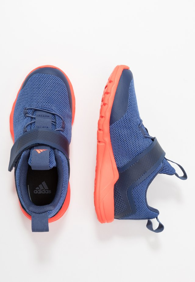 RAPIDAFLEX - Neutral running shoes - tech indigo/glow blue/solar red