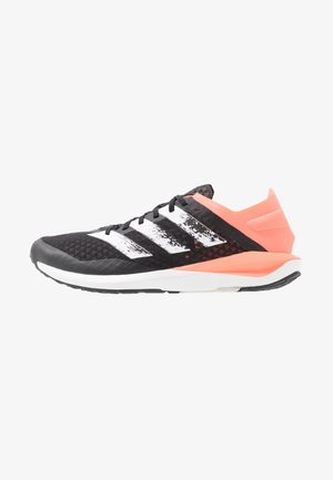 RAPIDAFAITO SUMMER.RDY - Hardloopschoenen competitie - core black/footwear white/signal coral