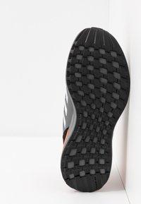adidas Performance - RAPIDARUN CLOUDFOAM RUNNING SHOES - Neutral running shoes - core black/footwear white/solar red - 5