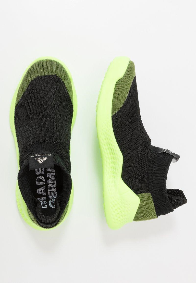 adidas Performance - PURE RNR - Obuwie do biegania treningowe - tech olive/core black/signal green