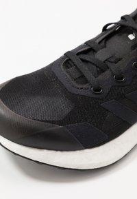 adidas Performance - RAPIDALUX - Obuwie do biegania treningowe - core black/shock yellow - 2