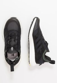 adidas Performance - RAPIDALUX - Obuwie do biegania treningowe - core black/shock yellow - 0
