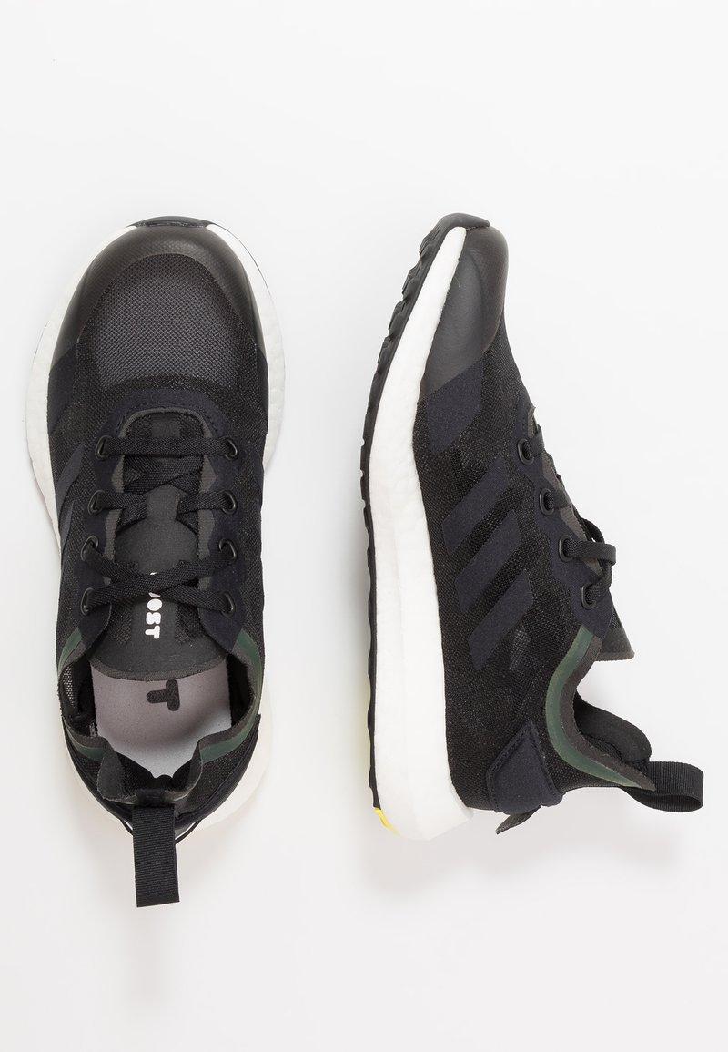 adidas Performance - RAPIDALUX - Obuwie do biegania treningowe - core black/shock yellow