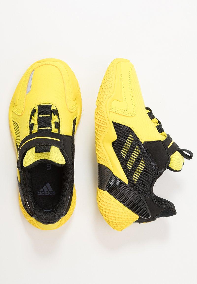 adidas Performance - 4UTURE RNR EL  - Obuwie do biegania treningowe - shock yellow/core black
