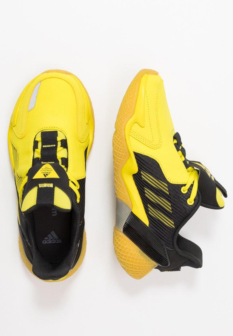 adidas Performance - 4UTURE RNR - Obuwie do biegania treningowe - core black/shock yellow