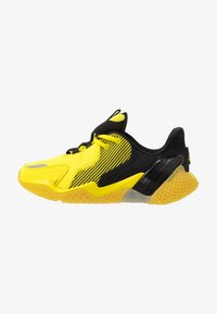 adidas Performance - 4UTURE RNR - Obuwie do biegania treningowe - core black/shock yellow - 1