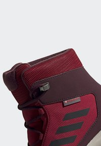 adidas Performance - TERREX SNOW CP CW SHOES - Lumilautakengät - burgundy - 10