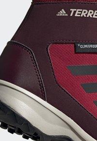 adidas Performance - TERREX SNOW CP CW SHOES - Lumilautakengät - burgundy - 7