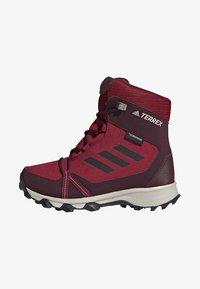 adidas Performance - TERREX SNOW CP CW SHOES - Lumilautakengät - burgundy - 0