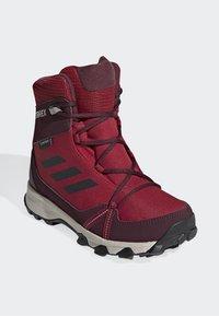 adidas Performance - TERREX SNOW CP CW SHOES - Lumilautakengät - burgundy - 2
