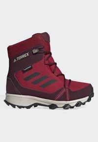 adidas Performance - TERREX SNOW CP CW SHOES - Lumilautakengät - burgundy - 5