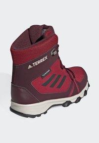 adidas Performance - TERREX SNOW CP CW SHOES - Lumilautakengät - burgundy - 3