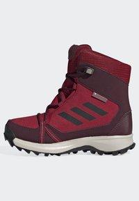 adidas Performance - TERREX SNOW CP CW SHOES - Lumilautakengät - burgundy - 8
