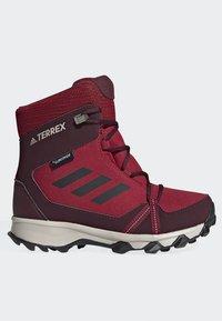 adidas Performance - TERREX SNOW CP CW SHOES - Lumilautakengät - burgundy - 6