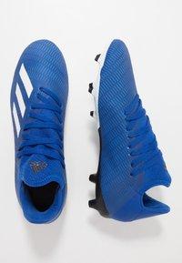 adidas Performance - X 19.3 FG - Korki Lanki - royal blue/footwear white/core black - 1