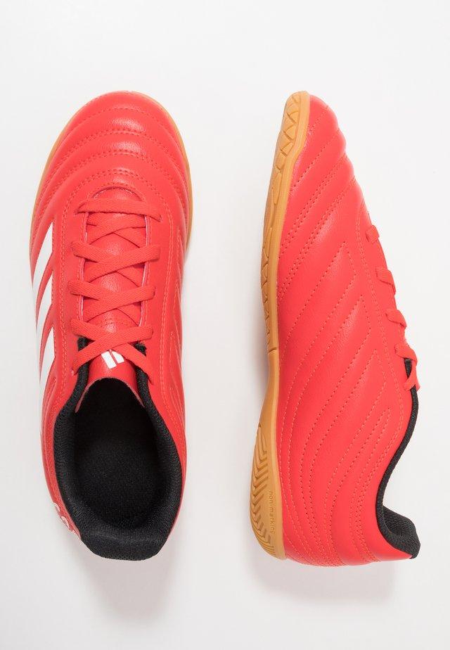COPA 20.4 IN - Botas de fútbol sin tacos - active red/footwear white/core black