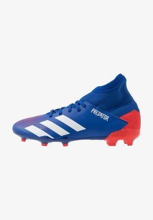 PREDATOR 20.3 FG - Kopačky lisovky - royal blue/footwear white/active red
