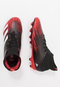 adidas Performance - PREDATOR 20.3 MG - Voetbalschoenen met kunststof noppen - core black/footwear white/core black - 0
