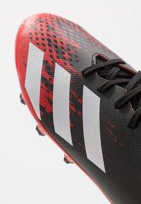 adidas Performance - PREDATOR 20.3 MG - Voetbalschoenen met kunststof noppen - core black/footwear white/core black - 2