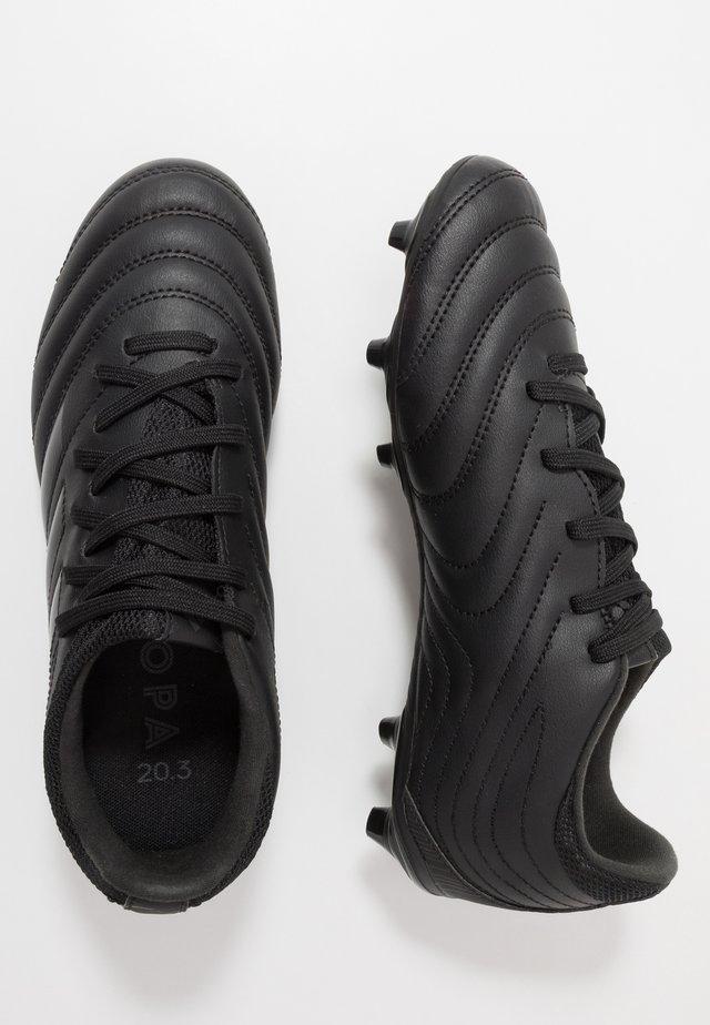 COPA 20.3 FG - Voetbalschoenen met kunststof noppen - core black/dough solid grey