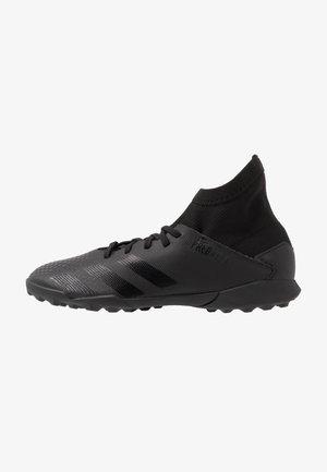 PREDATOR 20.3 TF - Astro turf trainers - core black/dough solid grey