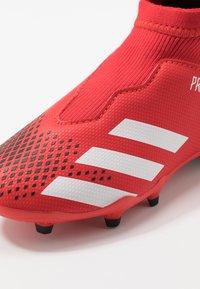 adidas Performance - PREDATOR 20.3 LL FG - Voetbalschoenen met kunststof noppen - active red/footwear white/core black - 2