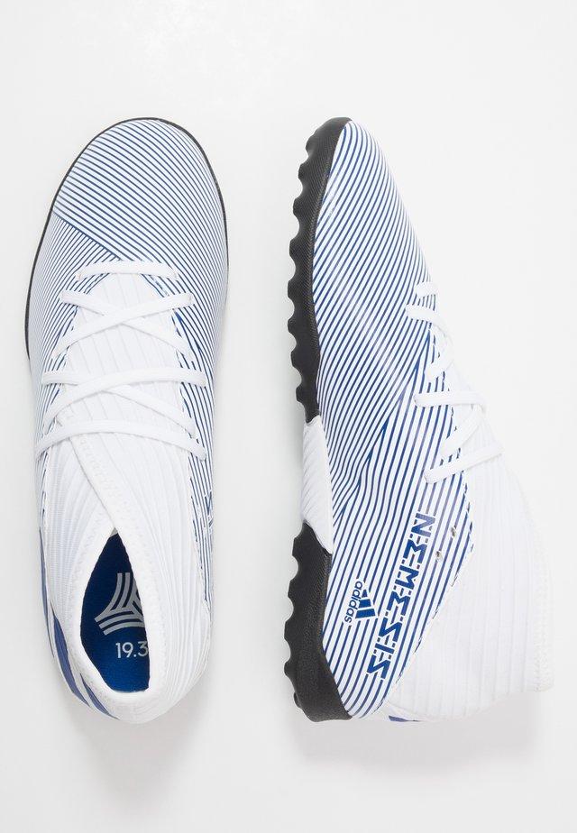 NEMEZIZ 19.3 TF J - Astro turf trainers - footwear white/royal blue