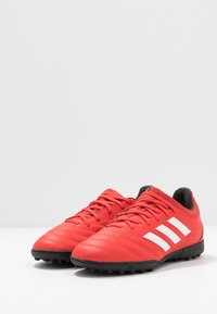 adidas Performance - COPA 20.3 TF - Korki Turfy - active red/footwear white/core black - 3