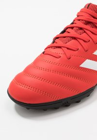 adidas Performance - COPA 20.3 TF - Korki Turfy - active red/footwear white/core black - 2