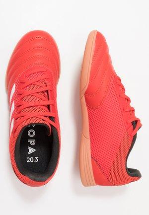 COPA 20.3 IN SALA - Scarpe da calcetto - active red/footwear white/core black