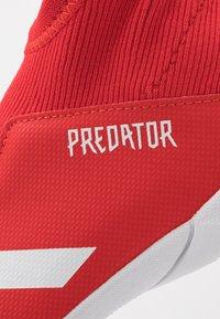 adidas Performance - PREDATOR 20.3 LL IN - Scarpe da calcetto - action red/footwear white/core black - 2