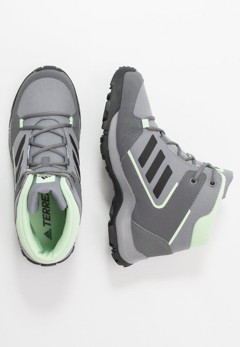 adidas Performance - TERREX - Fjellsko - grey three/core black/glow green