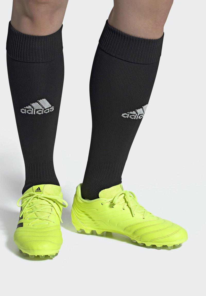 adidas Performance - COPA 19.3 ARTIFICIAL GROUND BOOTS - Fußballschuh Nocken - yellow