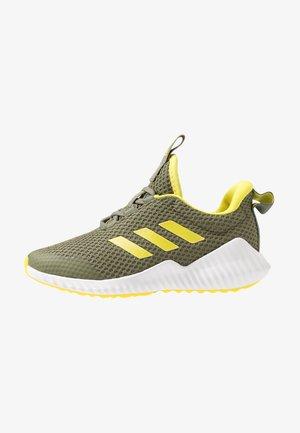 FORTARUN - Neutral running shoes - legend green/shock yellow/footwear white