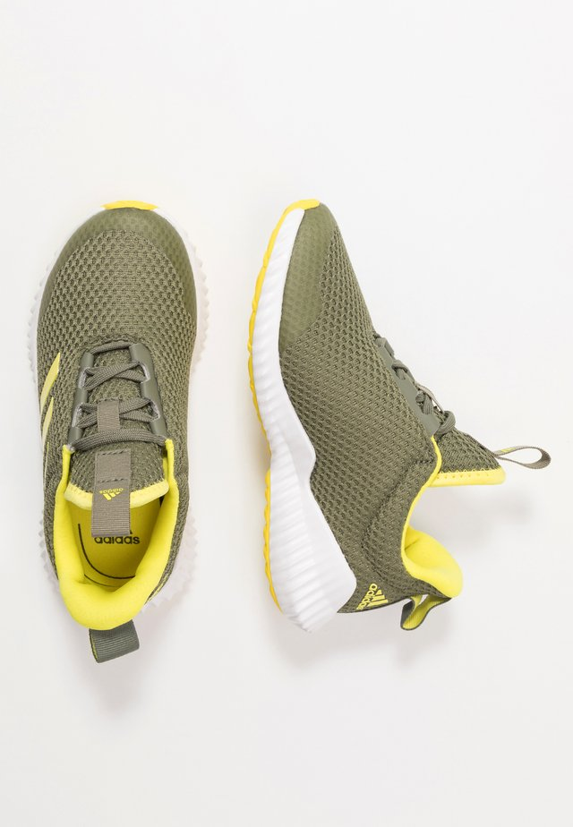 FORTARUN - Neutral running shoes - legend green/shock yellow/footwear white