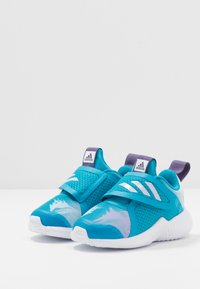 adidas Performance - FORTARUN X FROZEN CF - Laufschuh Neutral - bold aqua/purple tint/footwear white - 3