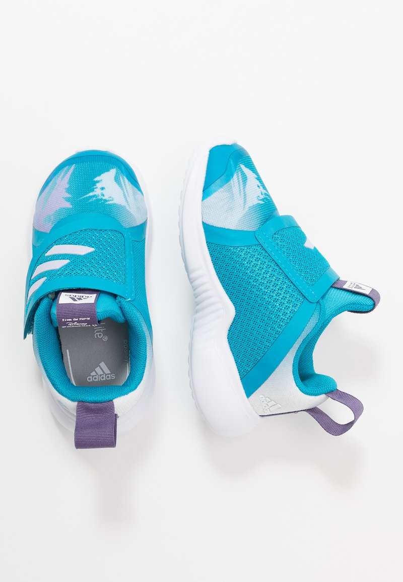 adidas Performance - FORTARUN X FROZEN CF - Laufschuh Neutral - bold aqua/purple tint/footwear white