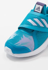 adidas Performance - FORTARUN X FROZEN CF - Laufschuh Neutral - bold aqua/purple tint/footwear white - 2