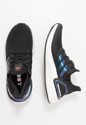 ULTRABOOST 20 - Obuwie do biegania treningowe - core black/blue vision metallic/footwear white