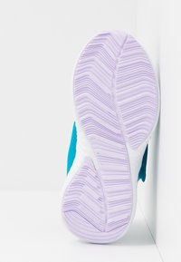 adidas Performance - FORTARUN X FROZEN - Laufschuh Neutral - bold aqua/puple tint/footwear white - 4
