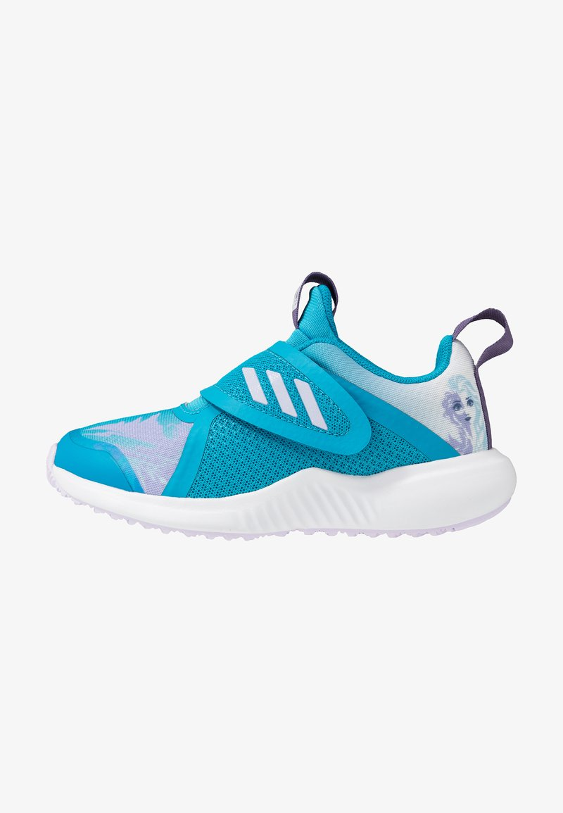 adidas Performance - FORTARUN X FROZEN - Laufschuh Neutral - bold aqua/puple tint/footwear white