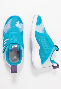 adidas Performance - FORTARUN X FROZEN - Laufschuh Neutral - bold aqua/puple tint/footwear white - 1