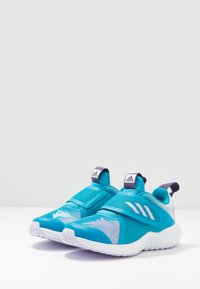 adidas Performance - FORTARUN X FROZEN - Laufschuh Neutral - bold aqua/puple tint/footwear white - 2