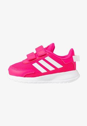 TENSAUR RUN - Zapatillas de running neutras - shock pink/footwear white/shock red