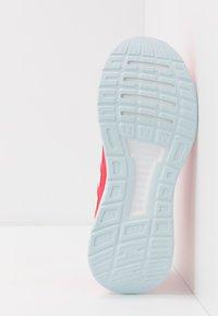 adidas Performance - RUNFALCON  - Zapatillas de running neutras - shock red/footwear white/shock pink - 5
