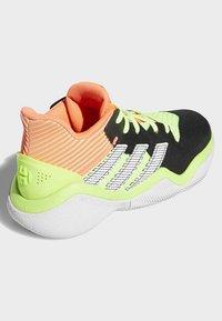 adidas Performance - HARDEN STEPBACK SHOES - Scarpe da basket - black/orange/grey - 3