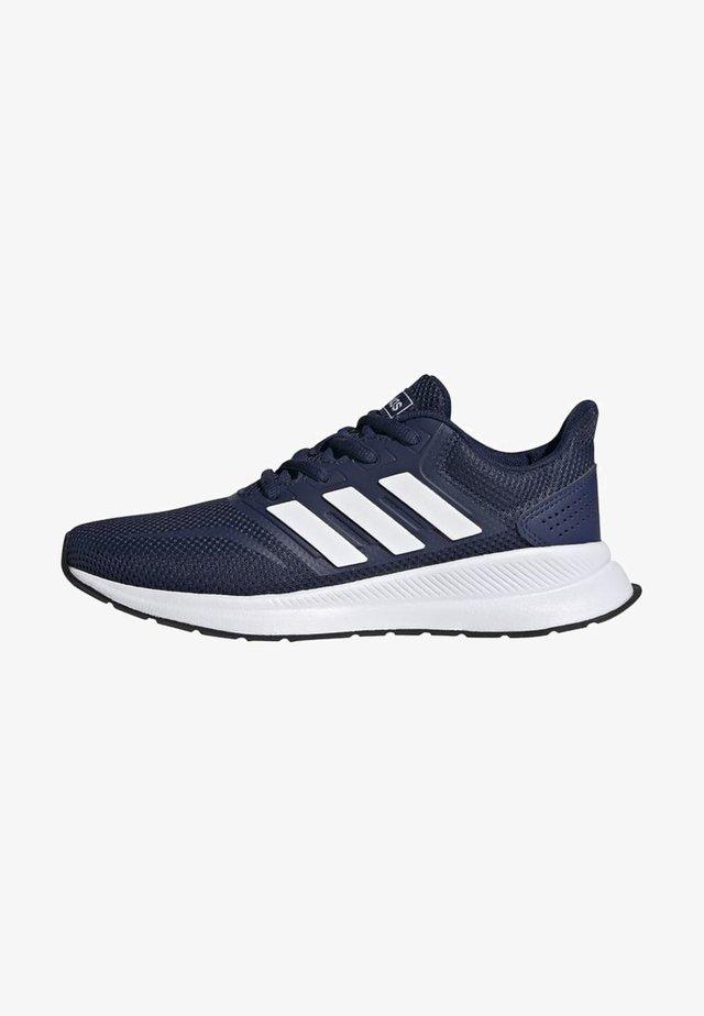 RUNFALCON SHOES - Neutral running shoes - blue/white/black
