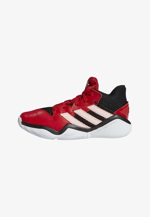 HARDEN STEPBACK SHOES - Basketbalschoenen - black/red/white