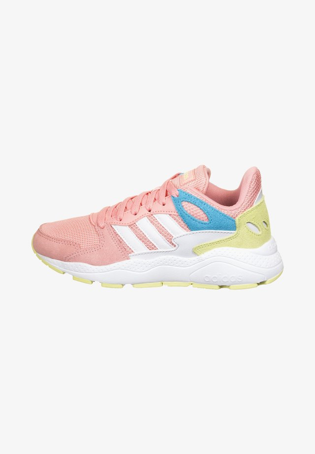 ADIDAS PERFORMANCE CRAZYCHAOS SNEAKER KINDER - Neutral running shoes - glow pink
