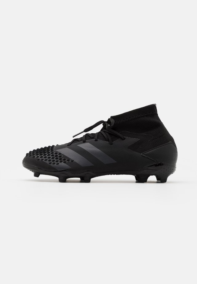 PREDATOR MUTATOR 20.1 FOOTBALL BOOTS FIRM GROUND UNISEX - Tekonurmikengät - core black/shock pink